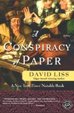 A Conspiracy of Paper -- book cover