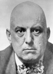 Aleister Crowley is one of the many people with whom this book is uninerested.